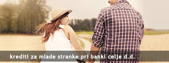 krediti za mlade banka celje