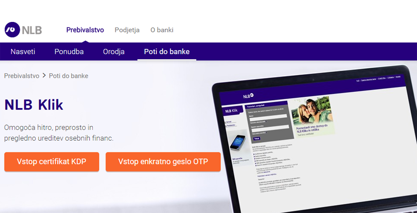 nlb klik spletna banka online